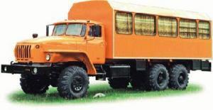 Вахтовый автобус УРАЛ-3255-41