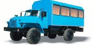 Вахтовый автобус УРАЛ-32552-41