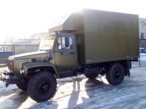 Передвижная мастерская на шасси ГАЗ-33081 «Садко»