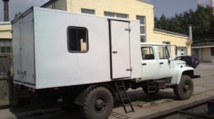 Передвижная мастерская на шасси ГАЗ-33081 «Егерь-2»
