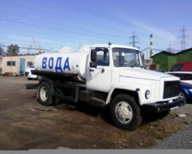 Пищевая автоцистерна 4,2 куб.м. на шасси ГАЗ-3309