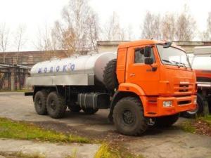 Пищевая автоцистерна 8,3 куб.м. на шасси КАМАЗ-43118