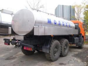 Пищевая автоцистерна 5,6 куб.м. на шасси КАМАЗ-5350
