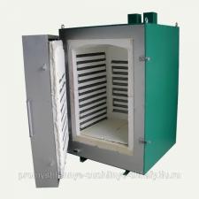 Муфельная печь с многоступенчатым регулятором до +1300 ЭКПС-50, автономн. вытяжка выход на ЭВМ