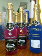 Новогодние бутылки шампанского спб в спб петербург санкт-петербург