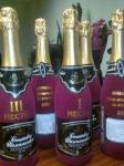 Декупаж новогодних бутылок шампанского спб в спб петербург санкт-петербург