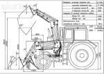 Прицеп тракторный самосвальный 2ПТС-5 г/п 5000 кг