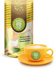 """Зеленый кофе купить с имбирем """"Green Ginger"""""""