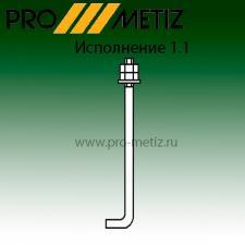 Болт фундаментный изогнутый тип 1 исполнение 1 М24х710 09г2с ГОСТ 24379.1-2012