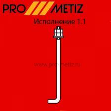 Болт фундаментный изогнутый тип 1 исполнение 1 М24х1000 09г2с ГОСТ 24379.1-2012