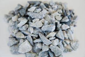 Щебень мраморный, серо-голубой, фр.5-20мм., фасованный