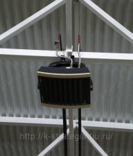 Гибкая нержавеющая подводка для подключения тепловых завес и калориферов