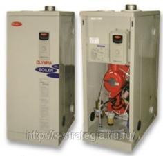 Напольный газовый котел OLB-170 теплообменник из толстой стали