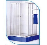 Душевая кабинка 870х870х1750 мм 4 стенки пластик