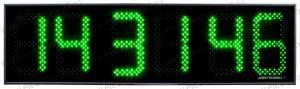 Часы Электроника7-2210С6, зелёное свечение