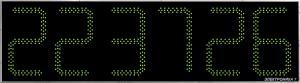 Часы Электроника7-2350С6, зелёное свечение