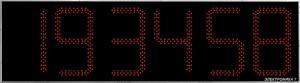 Часы Электроника7-2500С6, красное свечение