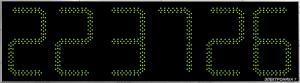 Часы Электроника7-2500С6, зеленое свечение