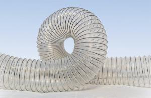 4. Рукав гофрированный гибкий для промышленных пылесосов POLI (PO, PVC-5