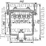Шинопровод троллейный ШТМ-70, 200А, 660В
