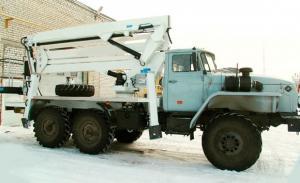 Автовышка АГП-29РТ на шасси Урал-4320