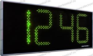 Часы Электроника7-2350С4, зелёное свечение