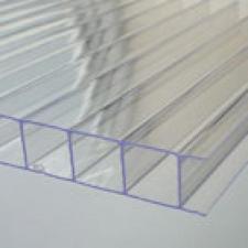 Прозрачный сотовый поликарбонат от 79 руб. за кв.м.