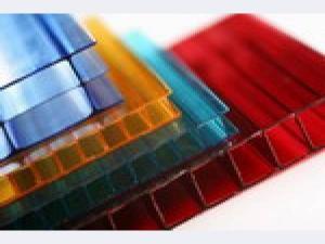 Цветной сотовый поликарбонат 4-25мм