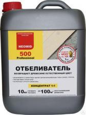 Отбеливатель для древесины Neomid 500, концентрат 1:1