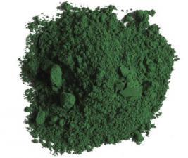 Пигмент зеленый, краситель для резиновой крошки