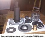 Рем комплект дроссельного клапана МЗА20 0000-040