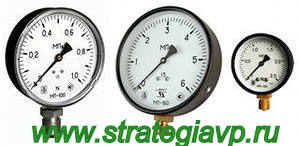Манометры технические МП40/МП50/МП63/МП100/МП160