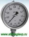 Манометры виброустойчивые МП63/МП100/МП160