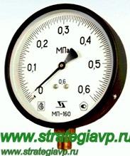Манометры точных измерений (МТИ) МП63/МП100/МП160