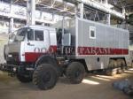 Передвижные станции автолаборатории СГИ для гидродинамических исследований и ремонта скважин на шасси Камаз 4310