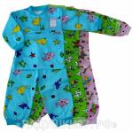 Пижама 2 кнопки для мальчиков и девочек