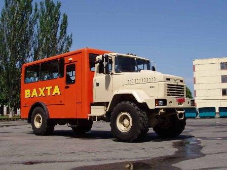 Продажа вахтовых автомобилей на базе КРАЗ