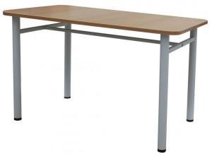 Стол обеденный 1500х800. Стол обеденный на разборном металлическом каркасе. Стол обеденный для столовой, кафе.