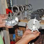 Крыльчатка компрессора штукатурной станции