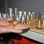 Муфта с наружной резьбой компрессора штукатурной станции
