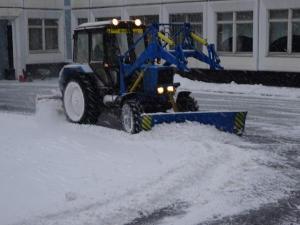 Трактор для уборки снега
