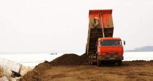 Песок грунт напрямую с берега/карьера. Песок речной, карьерный, обогащенный