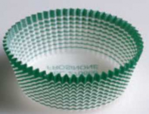 Бумажные капсулы для выпечки без бортика