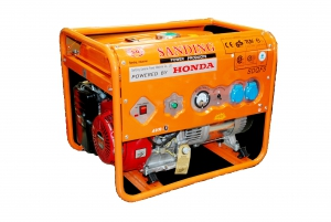 Генератор бензиновый марки Sanding SDQF5