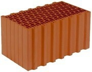 Керамические поризованные блоки 10,7НФ BRAER М-75, F 50