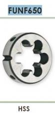 Плашка для нарезания мелкой правой дюймовой цилиндрической резьбы UNF Carmon FUNF650 DIN EN 22568