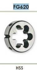 Плашка для нарезания цилиндрической правой резьбы (GAS) Carmon FG620 DIN EN 22568