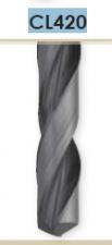 Сверло спиральное твердосплавное HM с утолщенным хвостовиком Carmon CL420 DIN 6537L