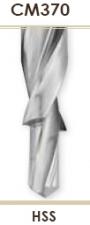 Сверла ступенчатые с коническим хвостовиком Carmon CM370 DIN 8377