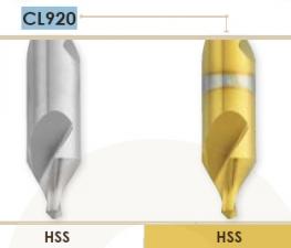 Сверла центровочные для создания закругленной фаски Carmon CL920 DIN 333-R